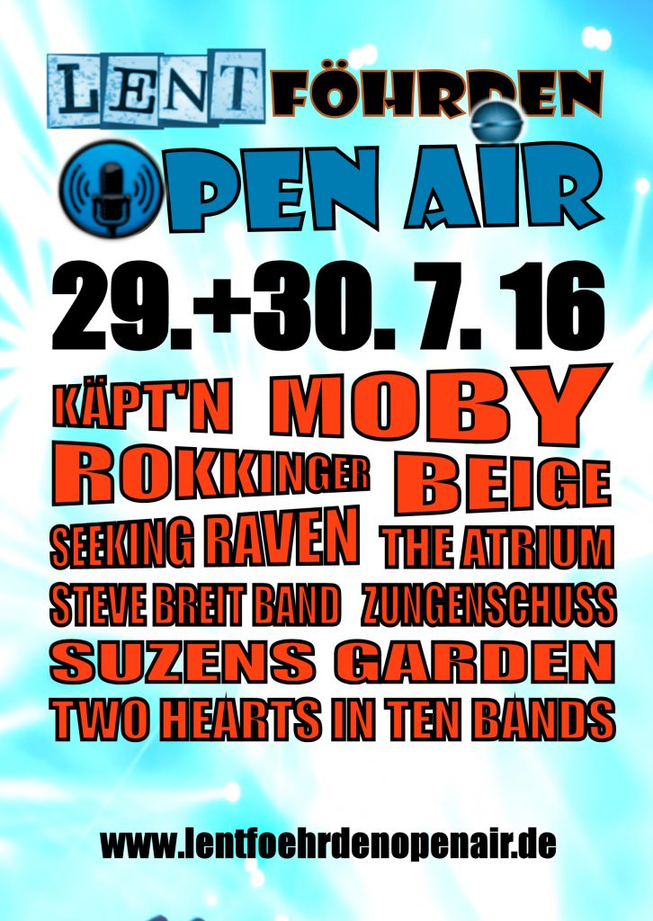 Open Air Plakat A1